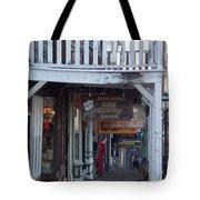 Virginia City Sidewalk  Tote Bag
