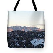 Virginia City View  Tote Bag