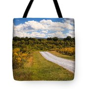 Yesterday - Virginia Country Road Tote Bag