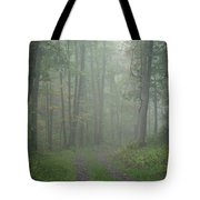Virginia - Shenandoah National Park - Road Not Taken Tote Bag