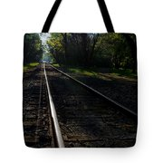 Virginius Island Tracks Tote Bag