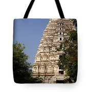 Virupaksha Temple In Hampi Tote Bag