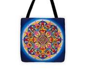 Vision - Brow Chakra Mandala Tote Bag