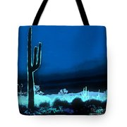 Vision Of A Desert Night Tote Bag