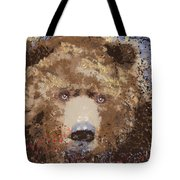Visionary Bear Tote Bag