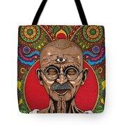 Visionary Gandhi Tote Bag