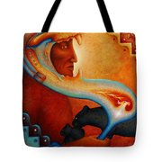 Visions Of A New Earth Tote Bag