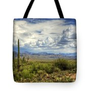 Visions Of Arizona  Tote Bag by Saija  Lehtonen