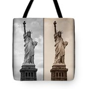 Visions Of Liberty Tote Bag