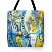 Visions Of Perceptive Elements Tote Bag