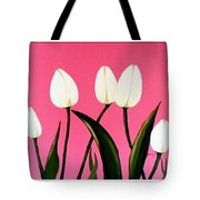 Visions Of Springtime - Abstract - Triptych Tote Bag