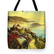 Visit Switzerland 1895 Tote Bag by Mountain Dreams