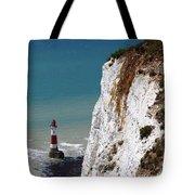 Visiting Beachy Head Tote Bag