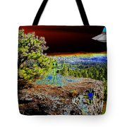 Visiting Rimrock In Spokane Tote Bag