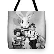 Visiting The Easter Bunny Tote Bag