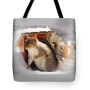Visiting The Outhouse Tote Bag