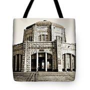 Vista House - Sepia Tote Bag