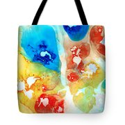 Vitality - Contemporary Art By Sharon Cummings Tote Bag by Sharon Cummings