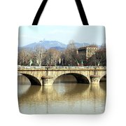 Vittorio Emanuele I Bridge Tote Bag