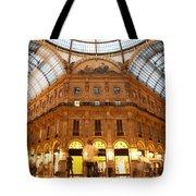 Vittorio Emanuele II Gallery Milan Italy Tote Bag