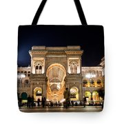 Vittorio Emanuele II Gallery Tote Bag by Michal Bednarek