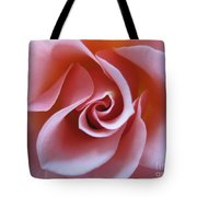 Vivacious Pink Rose 3 Tote Bag
