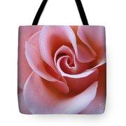 Vivacious Pink Rose 4 Tote Bag