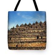 Vivid Borobudur Tote Bag