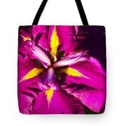 Vivid Iris Tote Bag