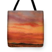 Vivid Sunset Tote Bag