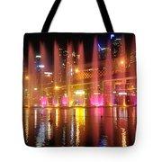 Vivid Sydney By Kaye Menner -  Vivid Aquatique  Tote Bag