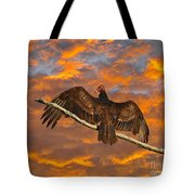 Vivid Vulture Tote Bag by Al Powell Photography USA