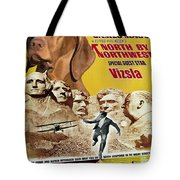 Vizsla Art Canvas Print - North By Northwest Movie Poster Tote Bag