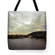 Vltava View Revisited - Prague Tote Bag