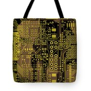 Vo96 Circuit 5 Tote Bag by Paul Vo