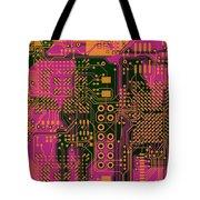 Vo96 Circuit 6 Tote Bag