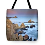 Volcanic Planet Tote Bag