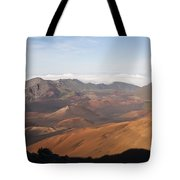 Volcanic Valley Of Cones Tote Bag