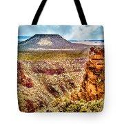 Volcano At Grand Canyon Arizona Tote Bag
