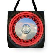 Volkswagen Vw Wheel Emblem Tote Bag