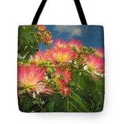 Voluntary Mimosa Tree Tote Bag
