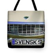 Volvo Grille Emblem -0198c Tote Bag