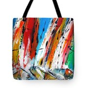 Abstract Sials - Available As A Signed And Numbered Print On Stretched Canvas See Pixi-art.com  Tote Bag