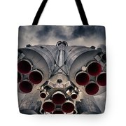 Vostok Rocket Engine Tote Bag