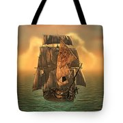 The Voyage Of The Dawn Treader Tote Bag
