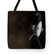 Voyager 1 Spacecraft Entering Tote Bag