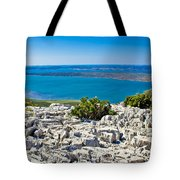 Vransko Lake And Kornati Islands Tote Bag