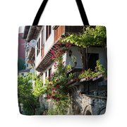 V. Turnovo Old City Street View - Bulgaria Tote Bag