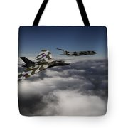 Vulcan And Victor  Tote Bag