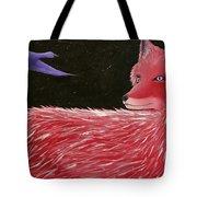 Vulpecula And Anser Tote Bag